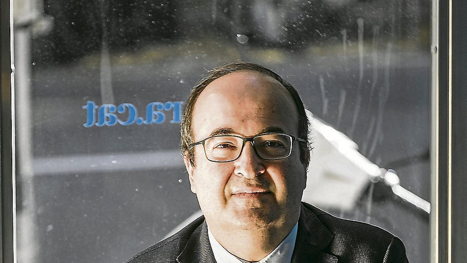 """Miquel Iceta: """"Probablement no hi pot haver entesa de Sánchez amb l'independentisme"""""""