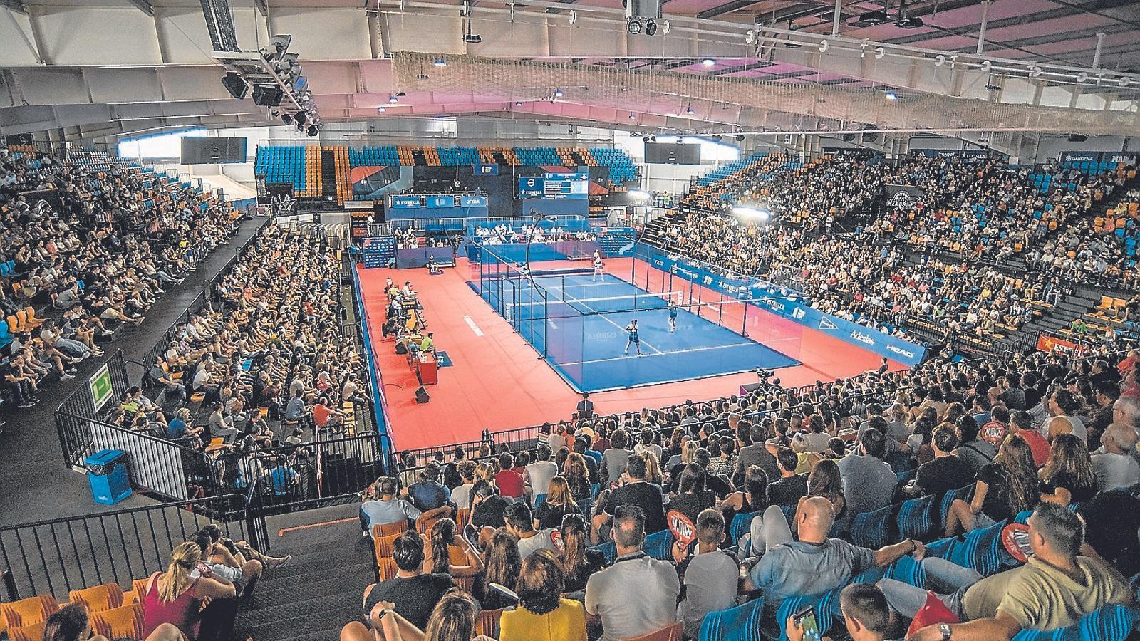 El World Pàdel Tour deixa 1,5 milions d'euros a Menorca