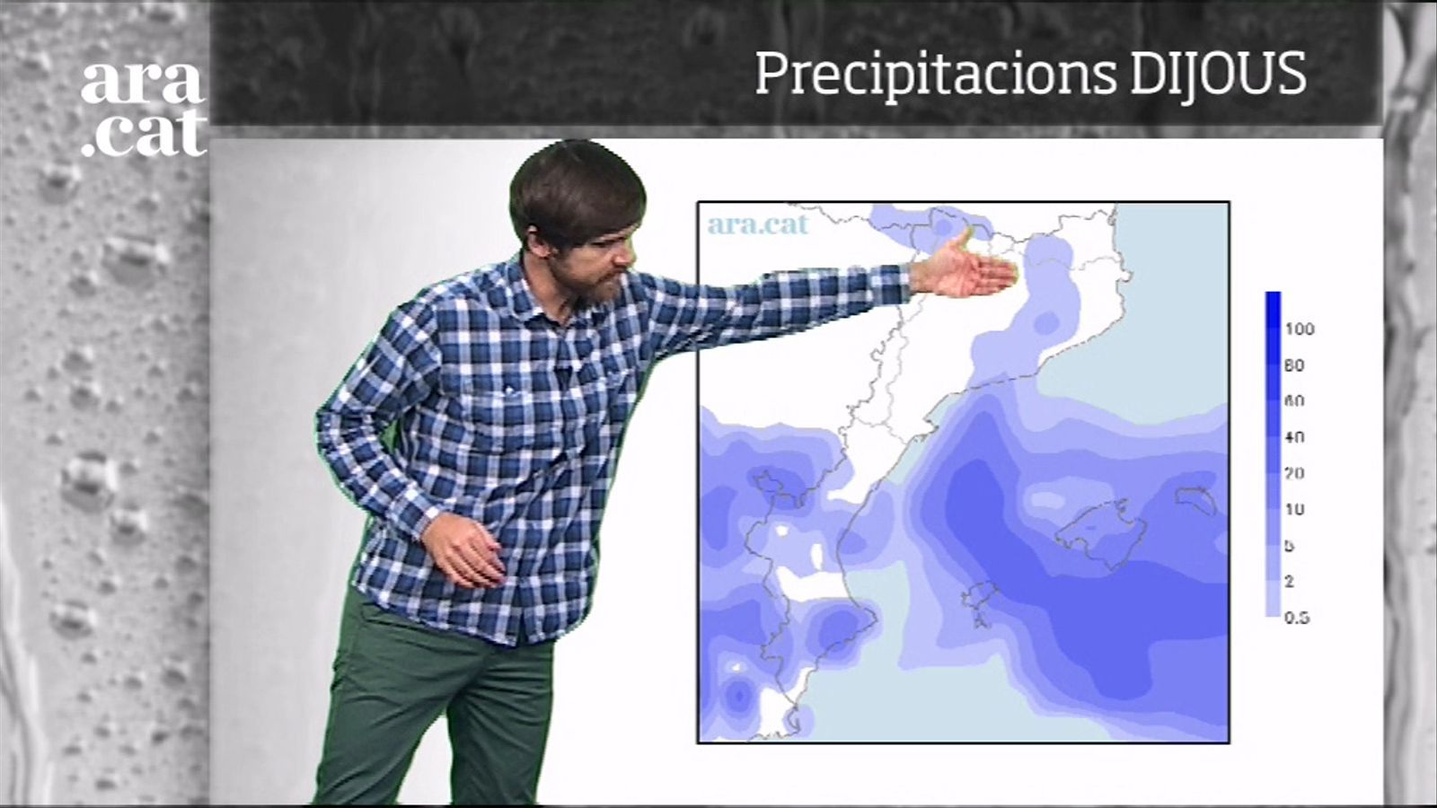 La méteo en 1 minut: temps insegur a l'est a l'espera de pluges dissabte