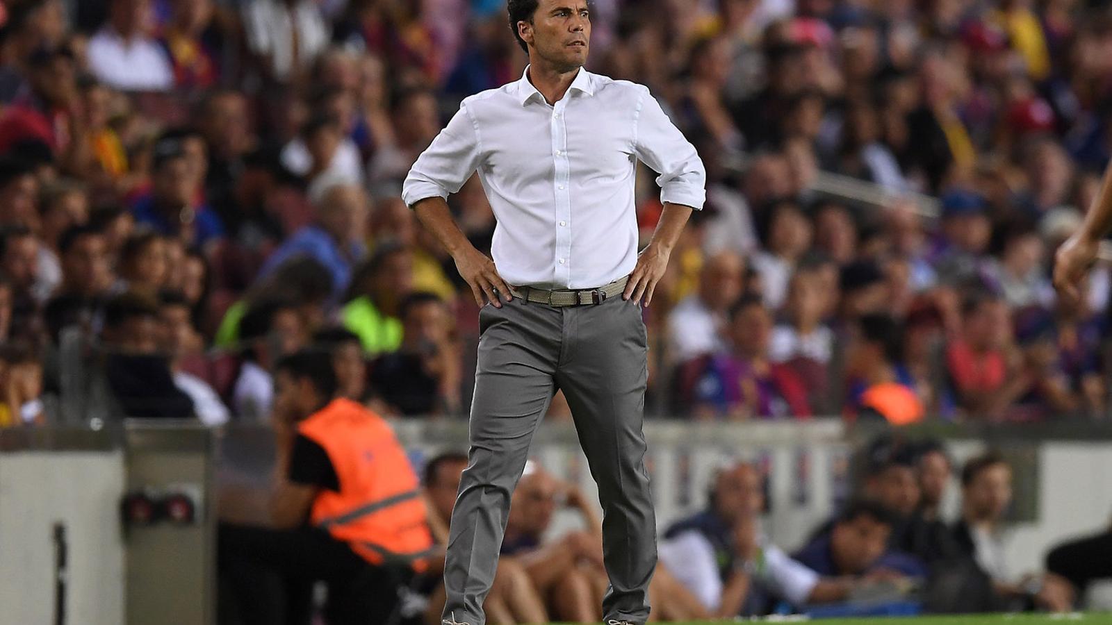"""Joan Francesc Ferrer 'Rubi': """"Als entrenadors se'ls ha de donar més força"""""""