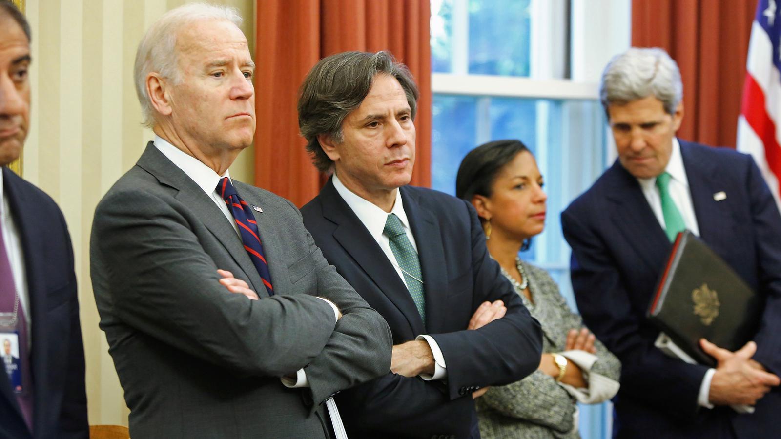 Joe Biden presenta part del seu govern