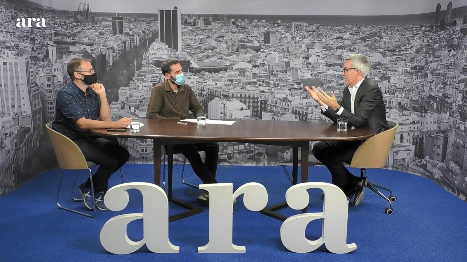 Entrevista de Toni Padilla i Xavi Hernàndez a Víctor Font