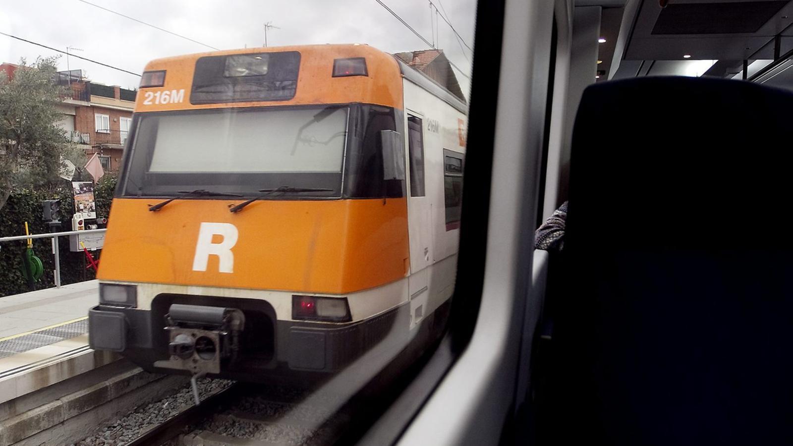 Vaga de bitllets dels usuaris de la R4 contra Renfe per l'accident a Castellgalí