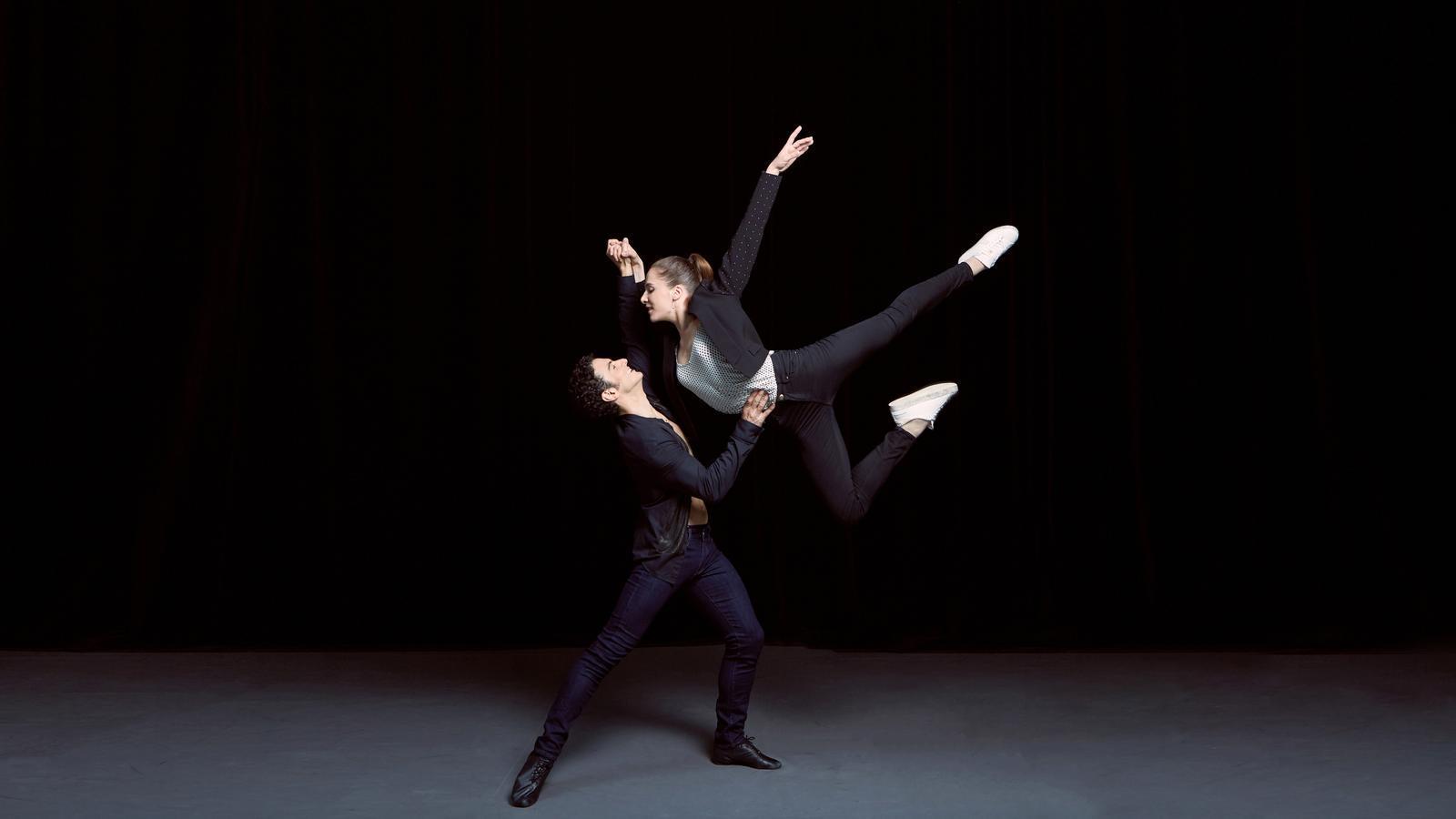 Amandine Albisson, i Valentine Colasant. / JIM ROSEMBERG