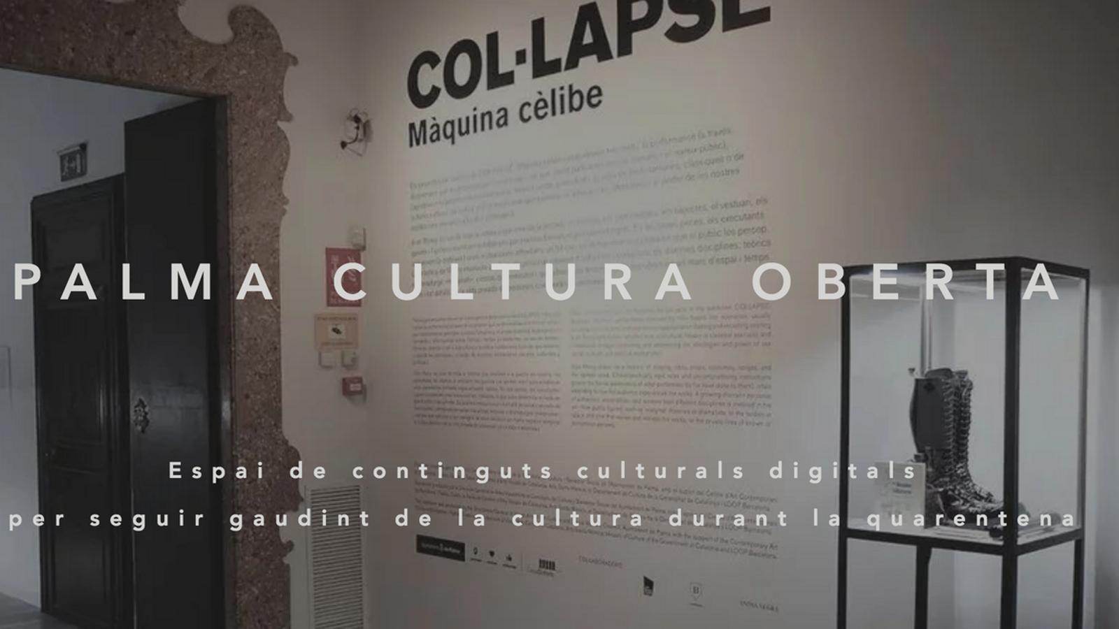 Imatge principal de la web Palma Cultura Oberta