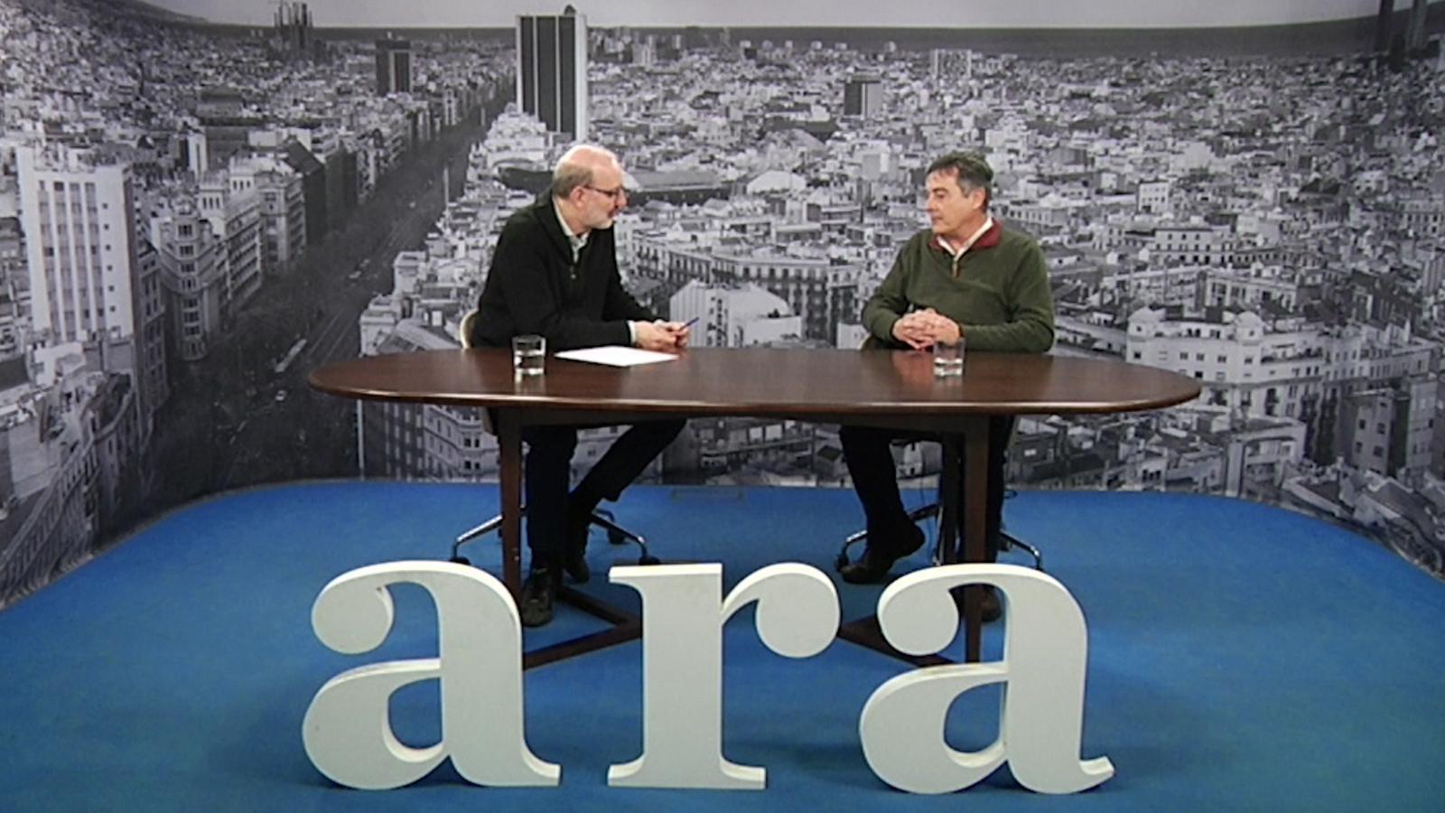 Entrevista d'Antoni Bassas a Enric Canet