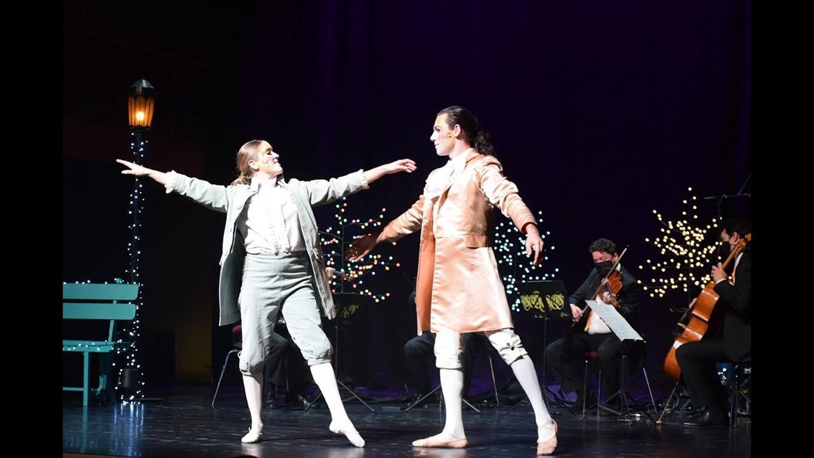 Humor, dansa i sons populars al concert de Cap d'Any