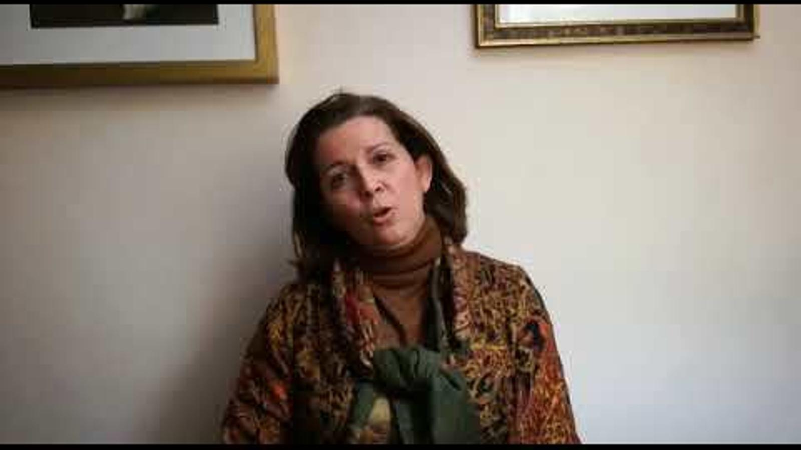 La presidenta de Vox Sevilla explica per què no fa vaga el 8 de març