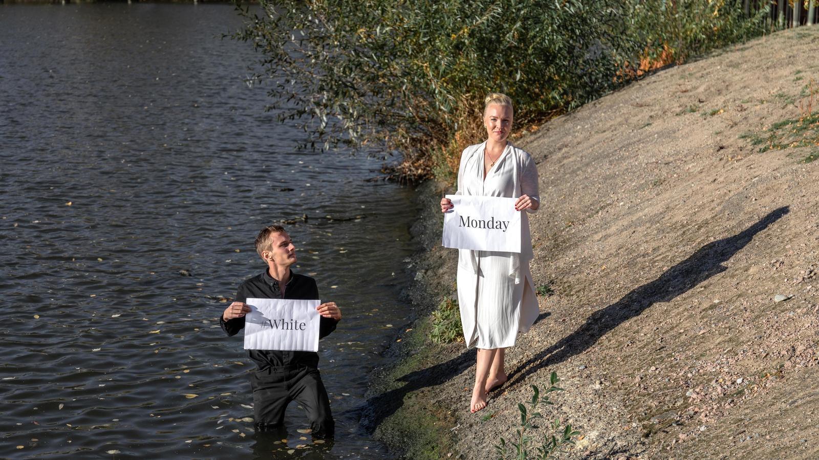 Henning Gillberg i Alexandra Davidsson, impulsors del White Monday