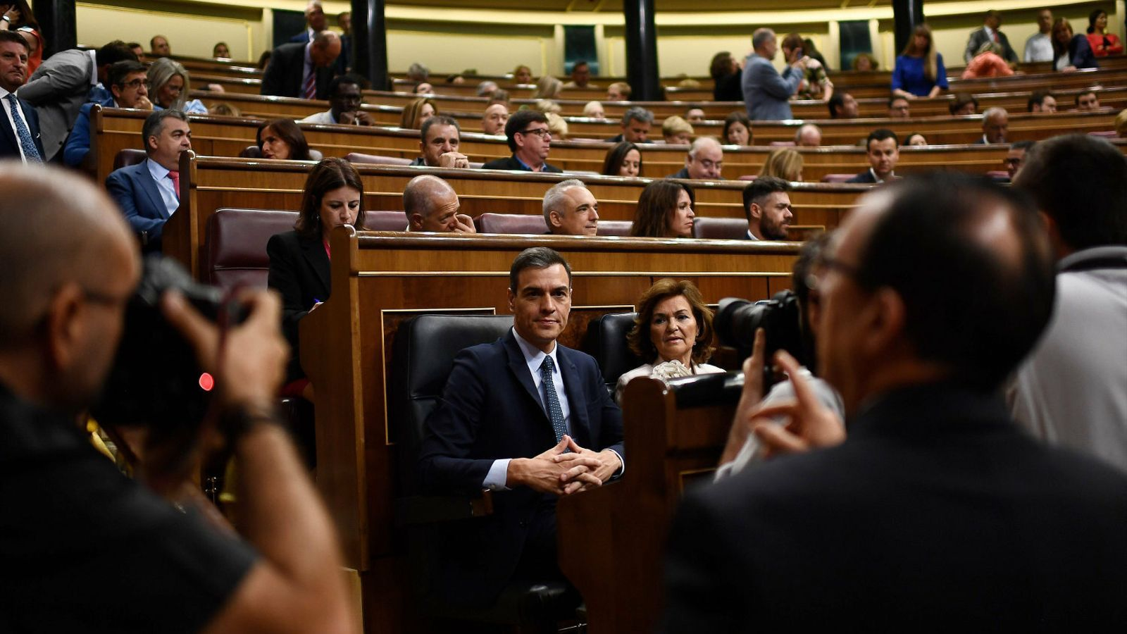 Sánchez perd el primer assalt  i fa una última oferta a Podem
