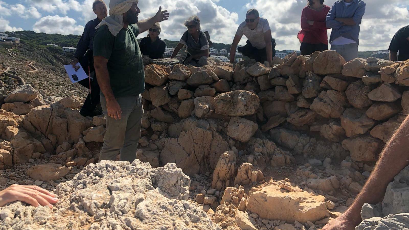 El projecte 'Entre Illes' també investiga l'assentament del cap costaner de Sa Ferradura de Manacor.