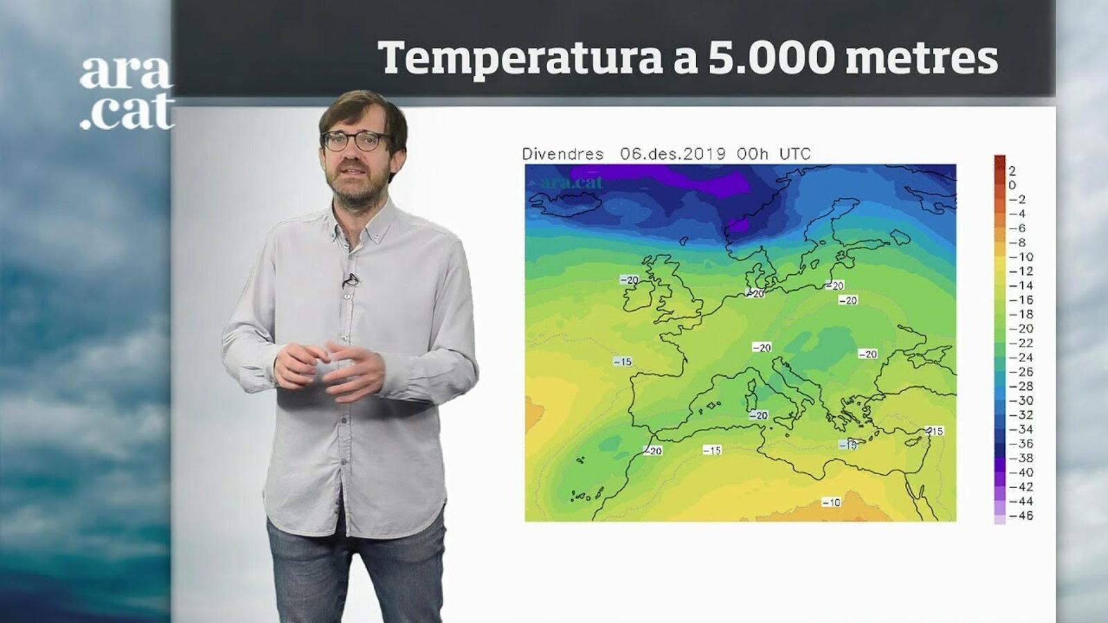 Méteo especial: cap de setmana més insegur i amb temperatures a la baixa