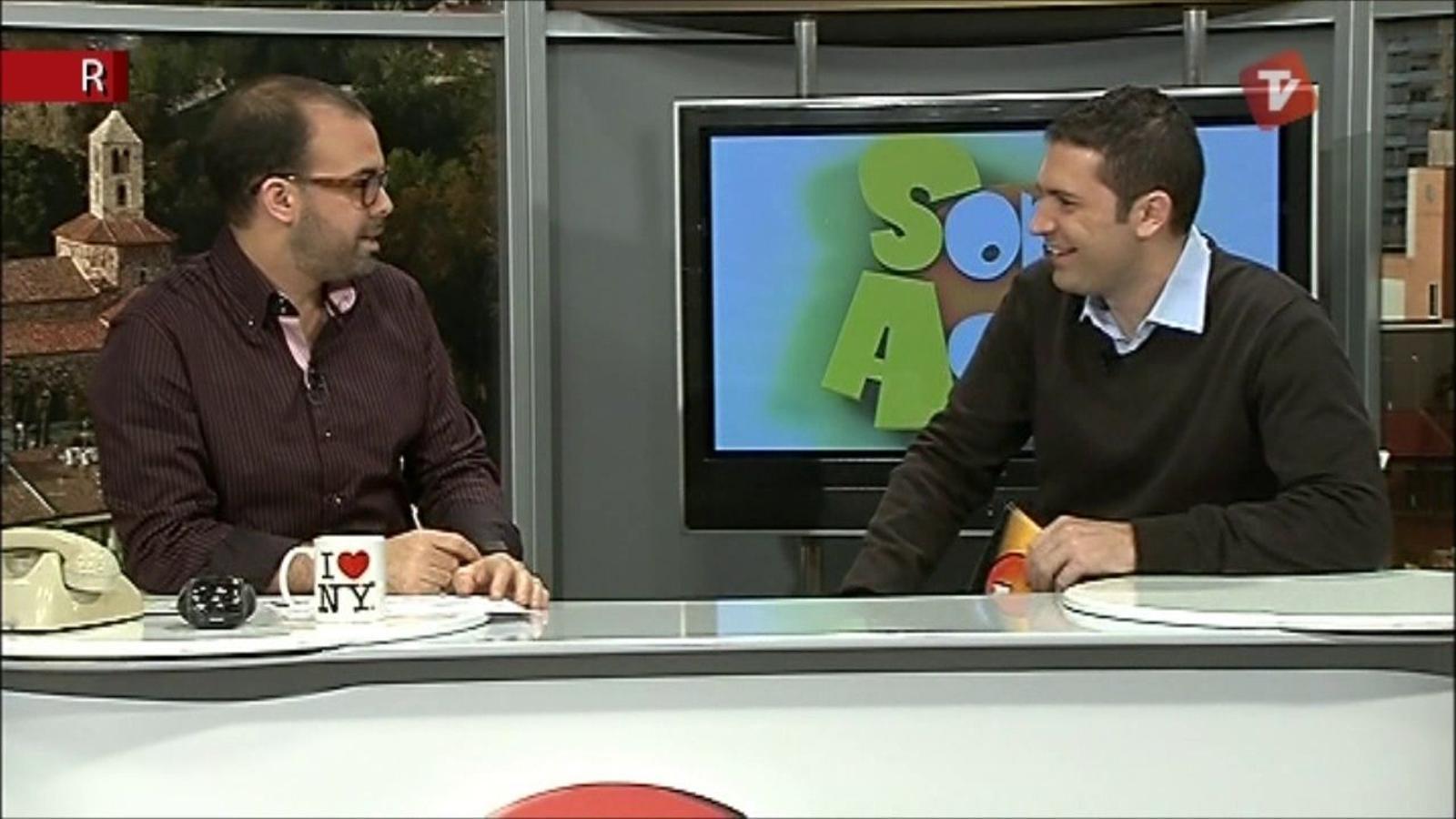 Ara Vadejocs al Som Aquí de Canal Terrassa Vallès (21/11/2011)