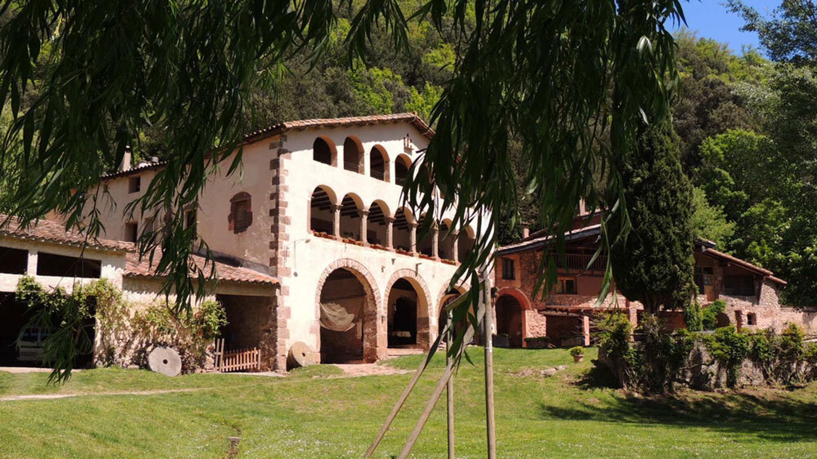 Una casa rural a la Vall de Bianya