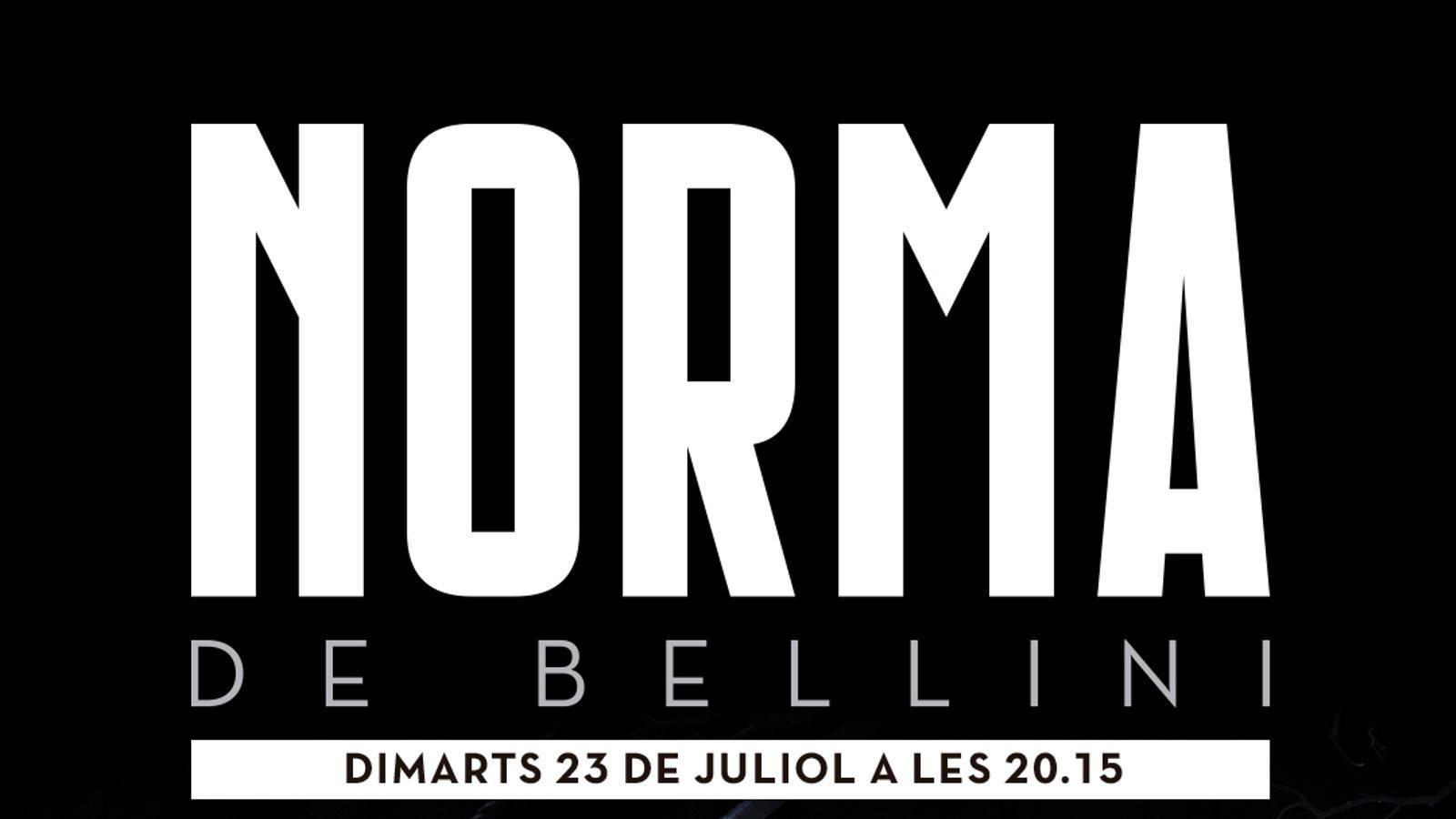 'Norma de Bellini' es podrà veure al cinema gratuïtament