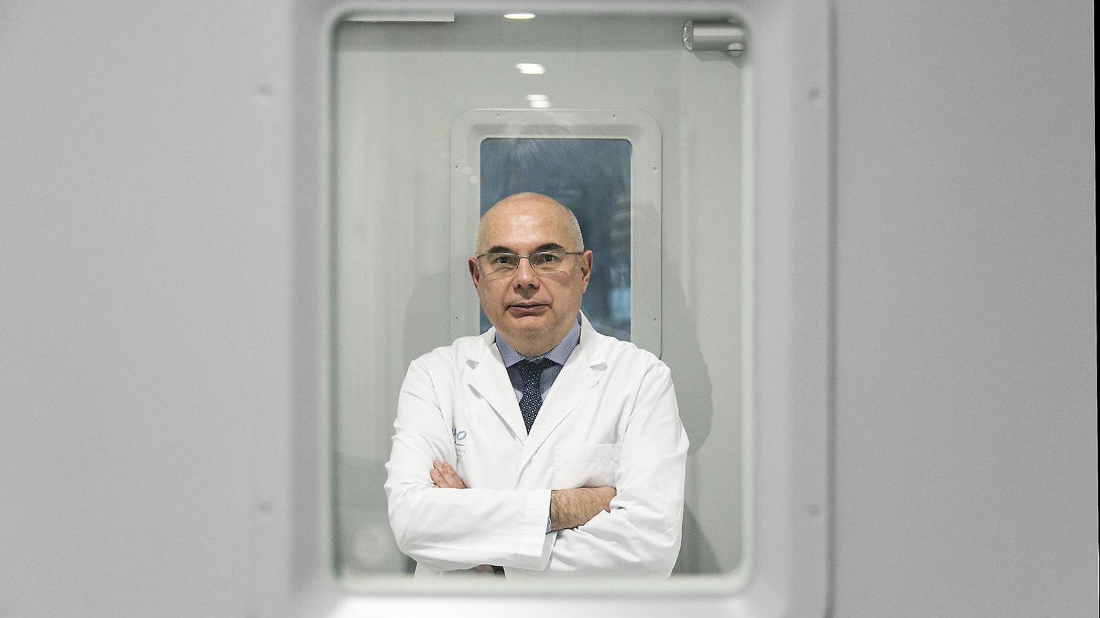 El director del Vall d'Hebron Institut d'Oncologia, Josep Tabernero, un dels oncòlegs més reconeguts del món.