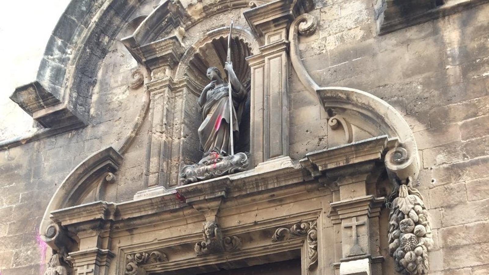 L'evangeli de Santa Creu segons Matilde Landa. / J. F.