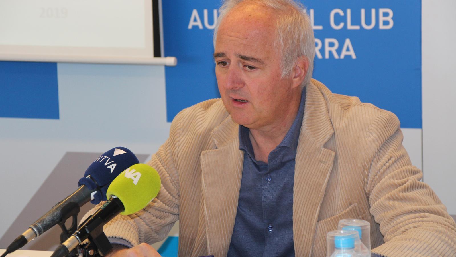 Enric Pujal, president d'ACA. / M. R. F.
