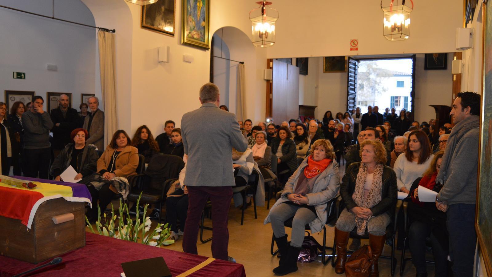 L'Ajuntament de Pollença dona el darrer adéu de Joan Losa amb un senzill i sentit homenatge