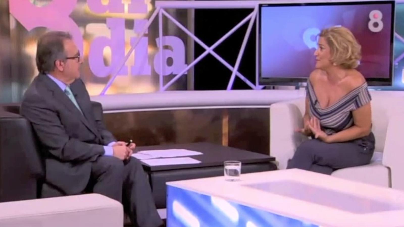 Pilar Rahola reivindica els clàssics de la Bernat Metge en el seu retorn televisiu