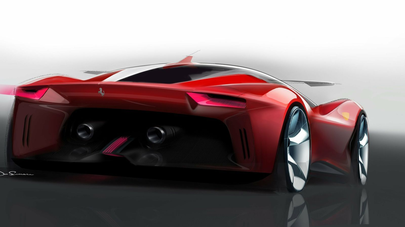 El primer Ferrari 'ecològic' de la història superarà els 1.000 CV