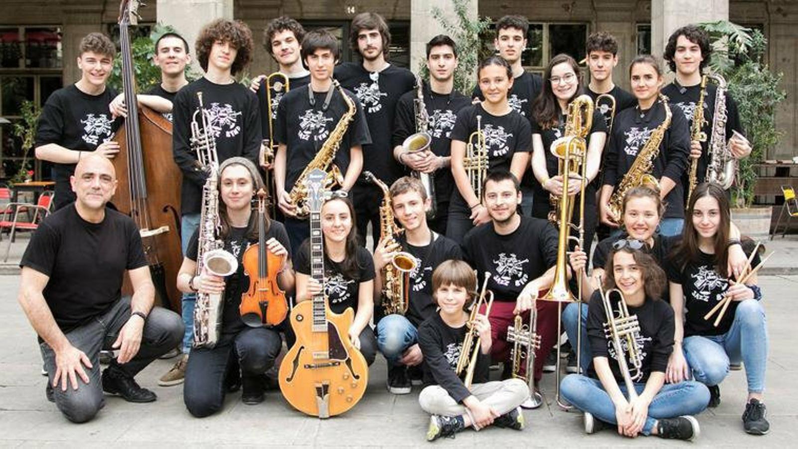 Música de la Sant Andreu Jazz Band.