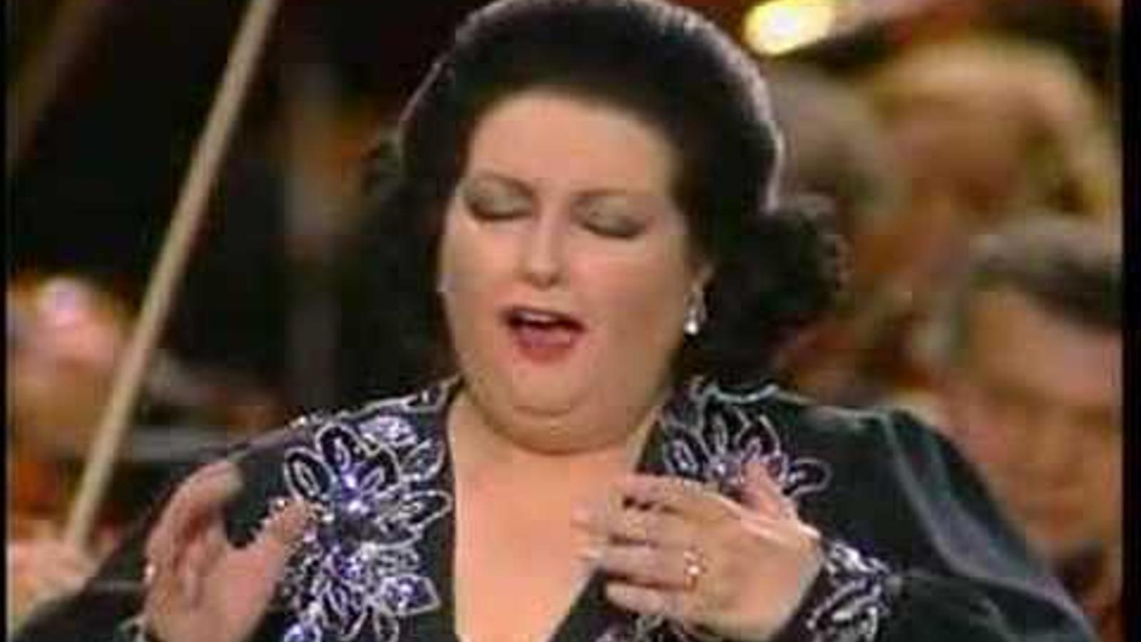 Montserrat Caballé interpretant l'ària de Puccini 'O mio babbino caro'