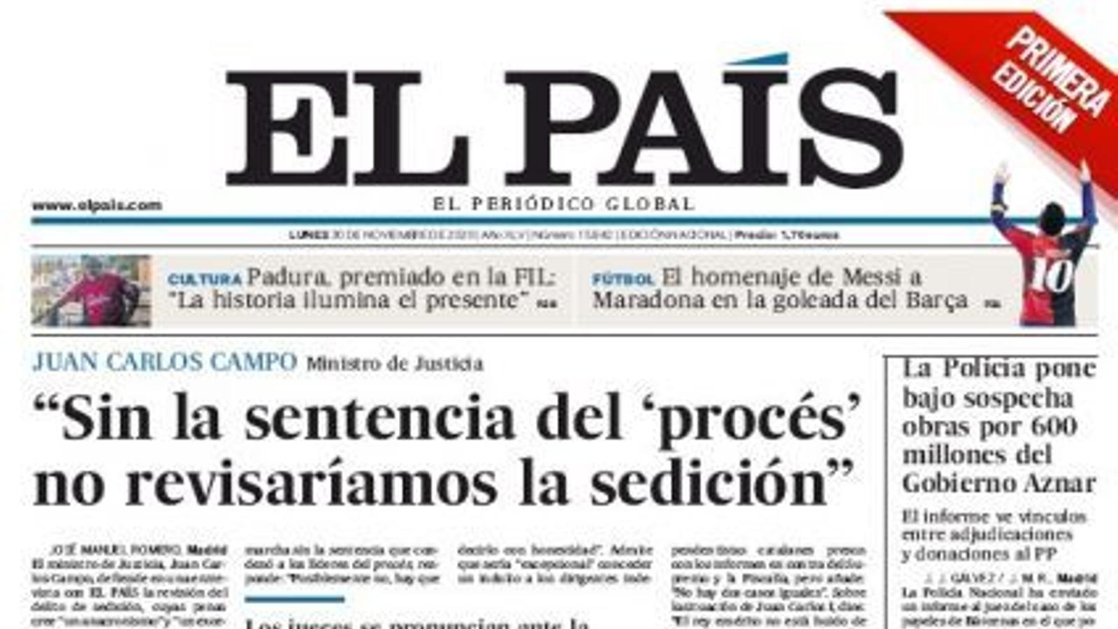 30/11 El País