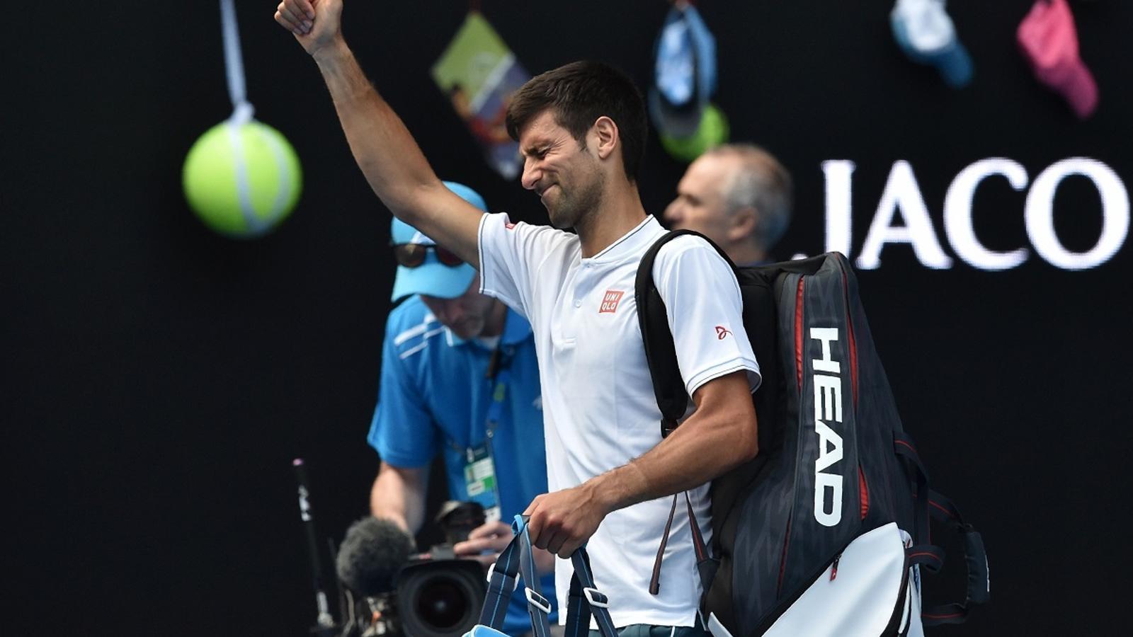 Djokovic s'acomiada de l'Open d'Austràlia