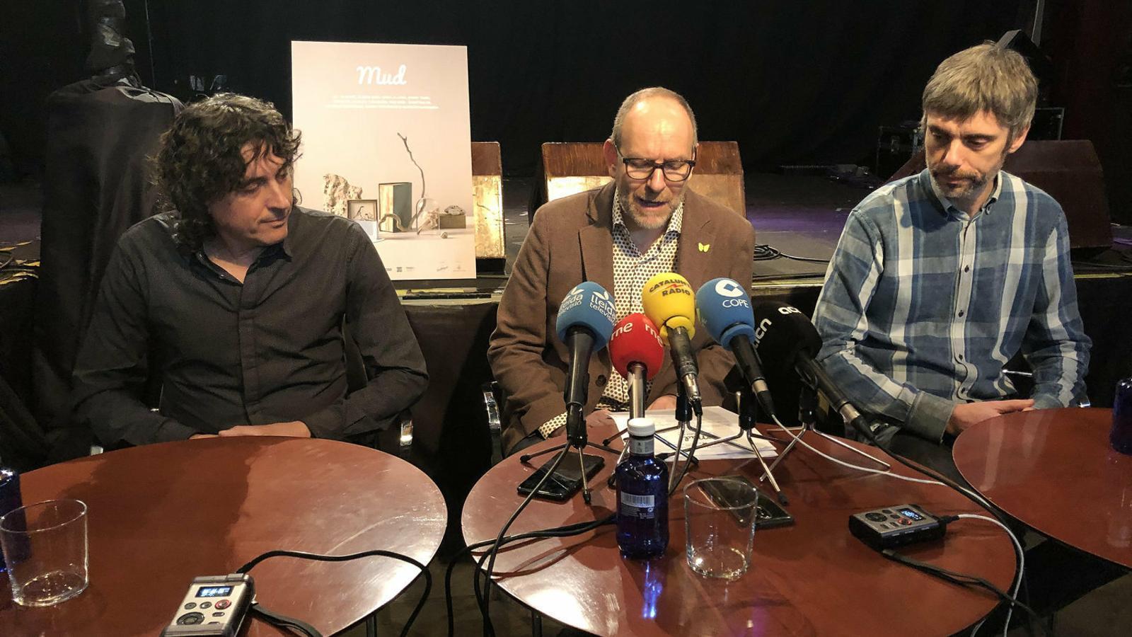 Gorgues (dreta) continuarà exercint la direcció artística del festival.