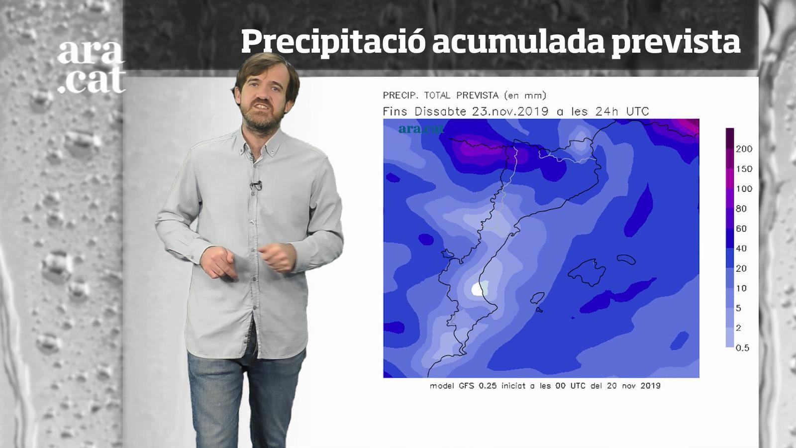 Méteo especial: una tongada de pluges marcarà l'inici del cap de setmana