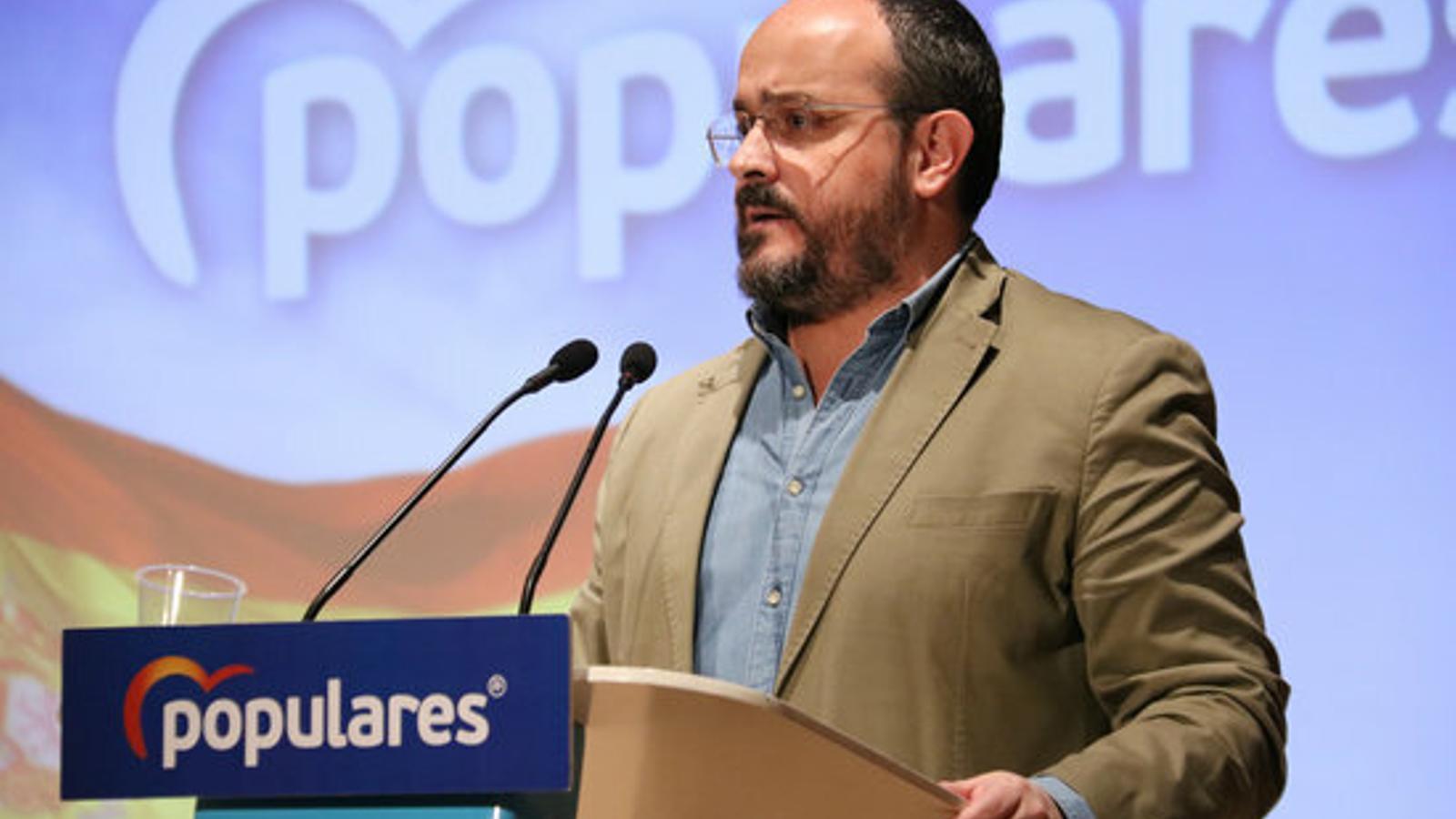 """Alejandro Fernández, a Ciutadans: """"L'espai constitucionalista necessita ser reconstruït entorn al PP"""""""