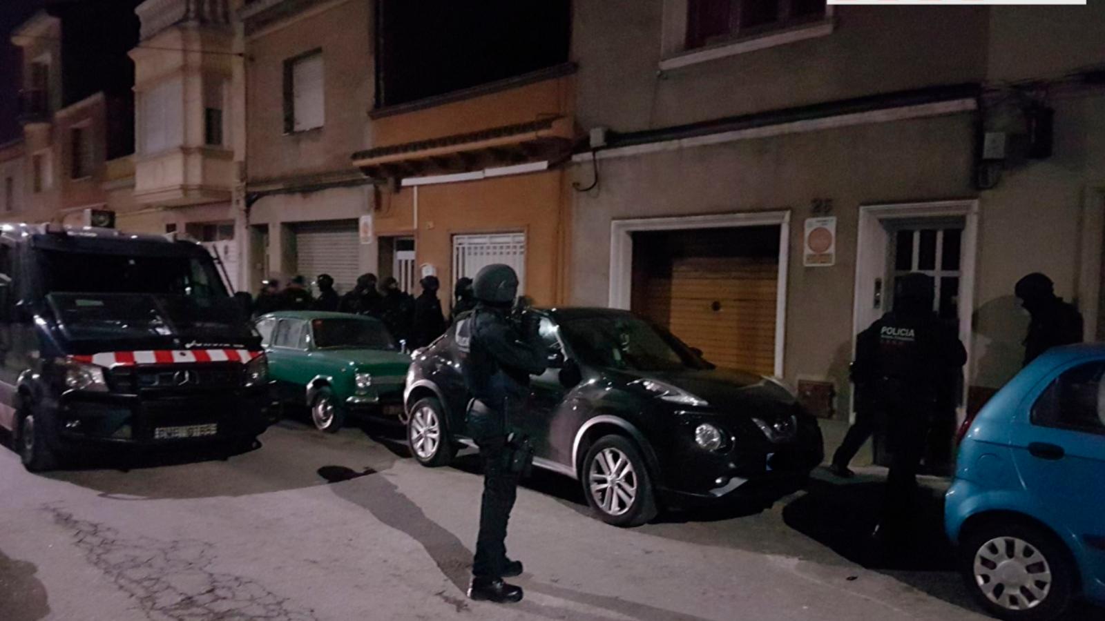 Operació policial contra la banda 'motard' Hells Angels MC