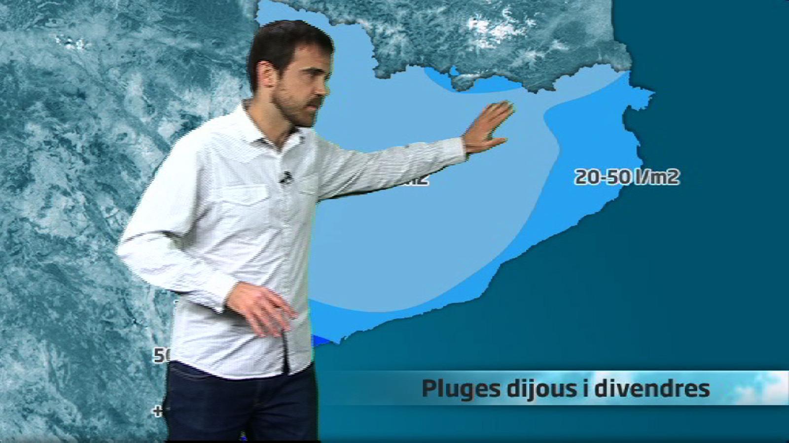 Méteo especial: una llevantada portarà pluges, neu, vent i un temporal marítim (28/02/2013)