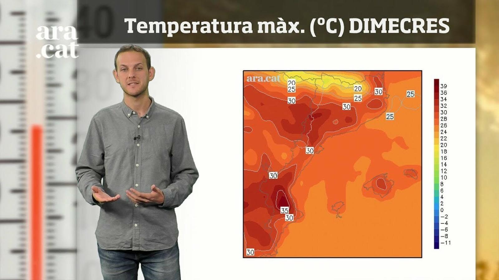 La méteo en 1 minut: ambient fresc de matinada i amb més calor a migdia