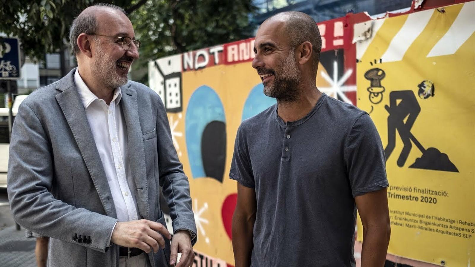 Entrevista d'Antoni Bassas a Pep Guardiola