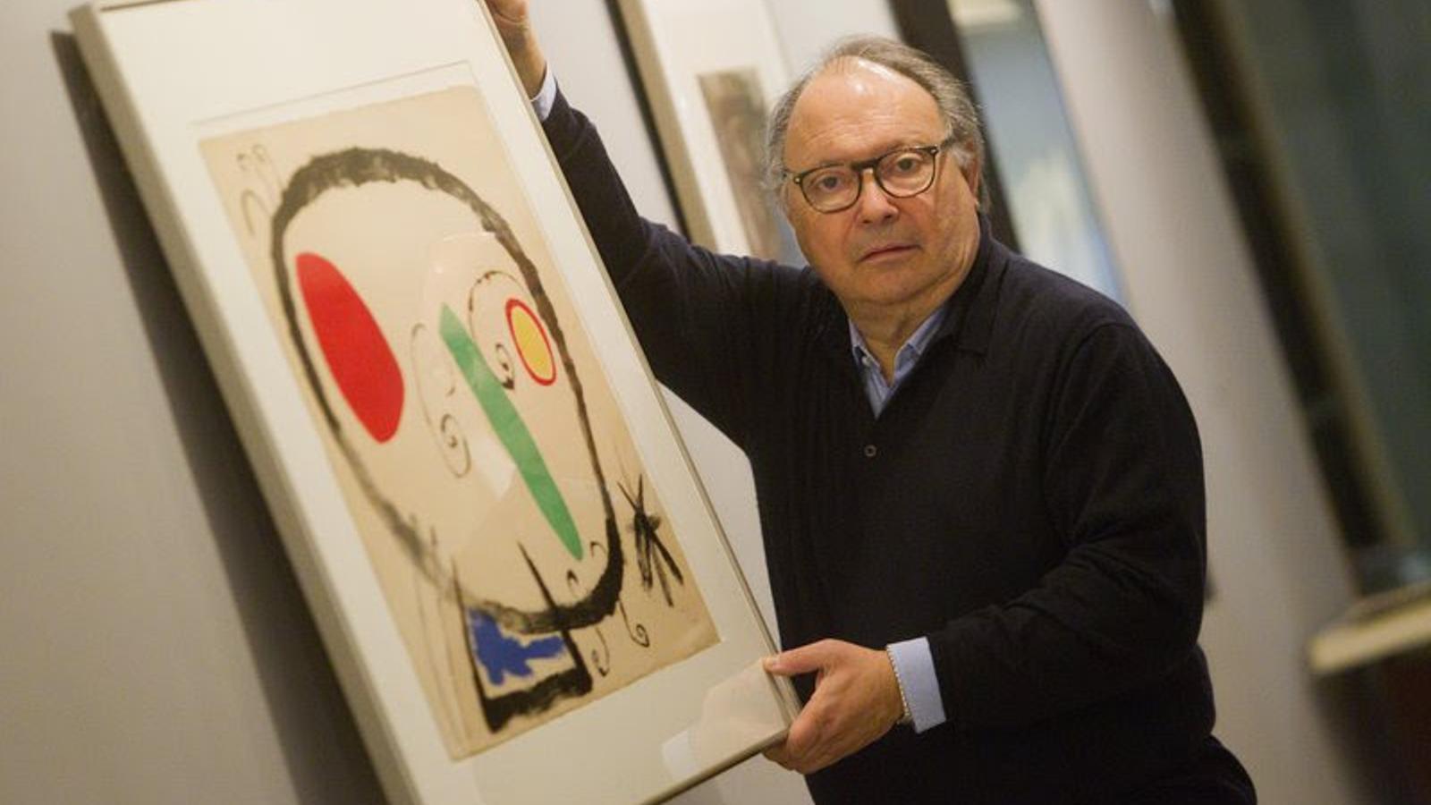 Mor als 80 anys Joan Gaspar, el galerista amic de Picasso