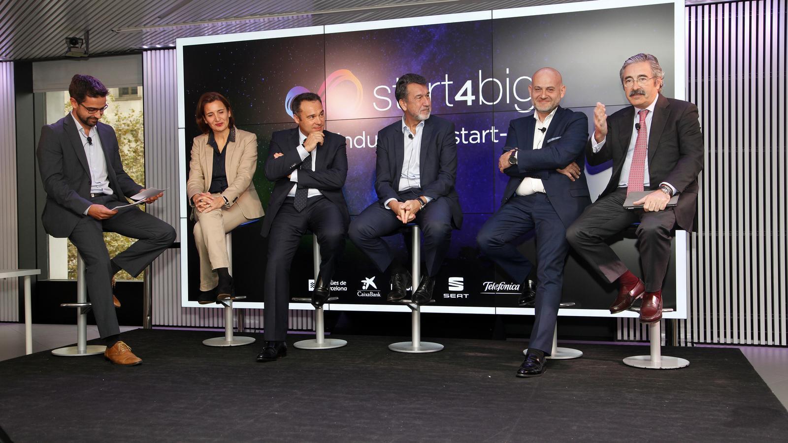 Seat, Naturgy, Telefónica, Aigües de Barcelona i CaixaBank s'alien per impulsar 'start-ups'