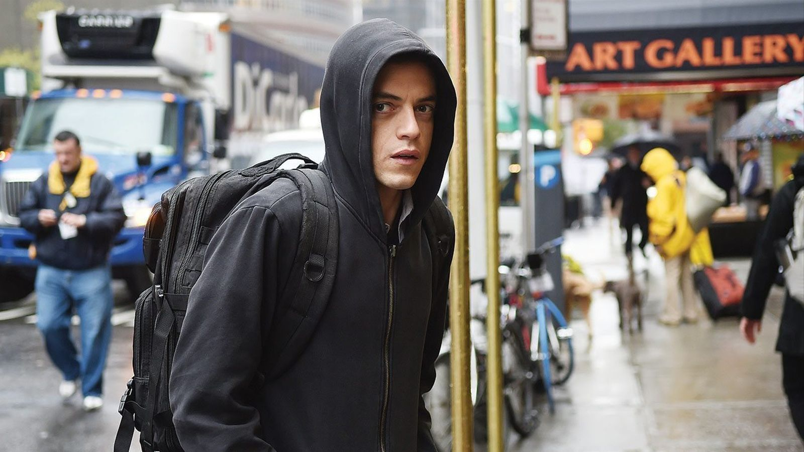 Els 'hackers' antisistema de   'Mr. Robot' ocupen Movistar+
