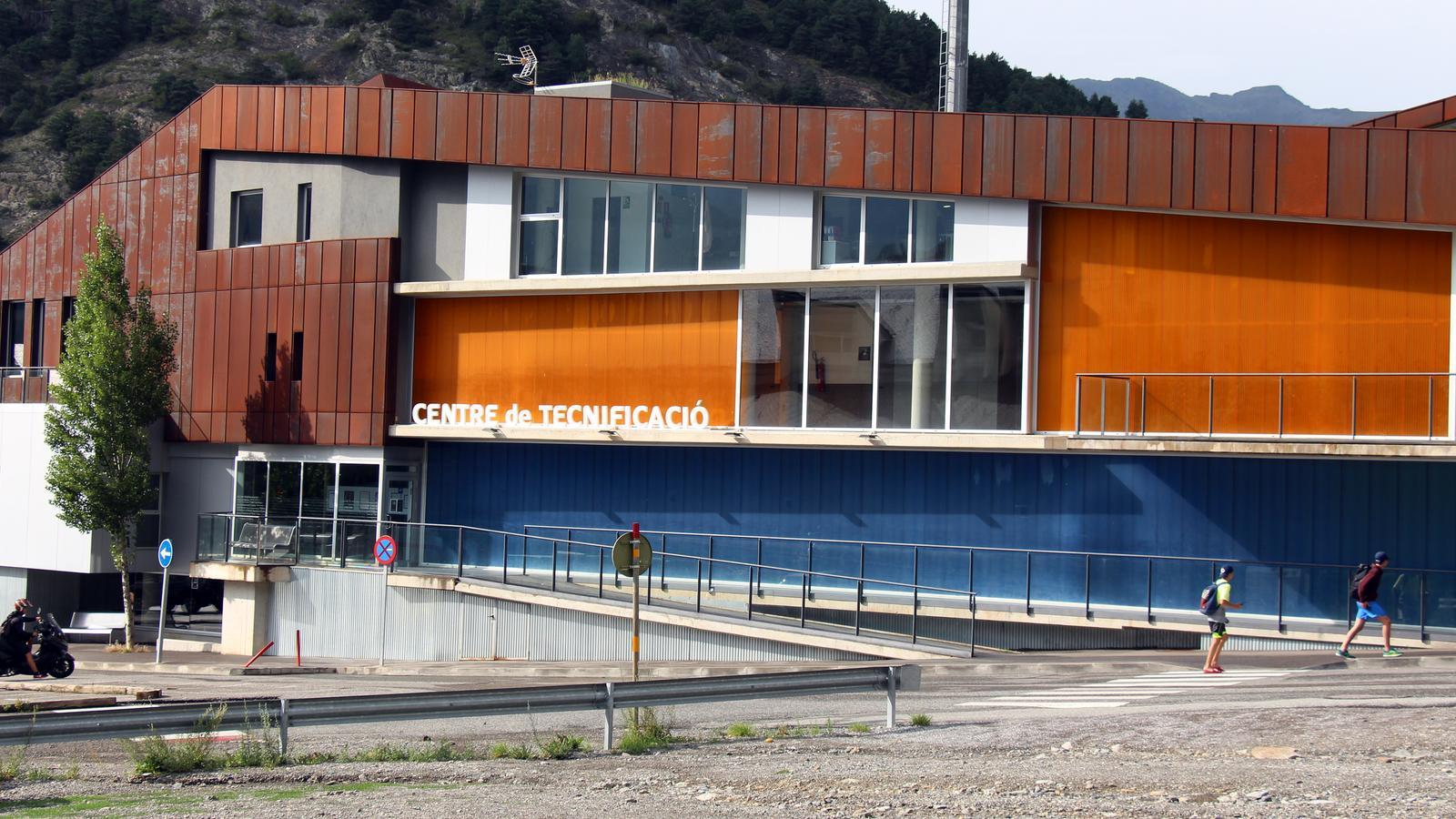 Vista general del Centre de Tecnificació Esportiva d'Ordino. / C.G. (ANA)