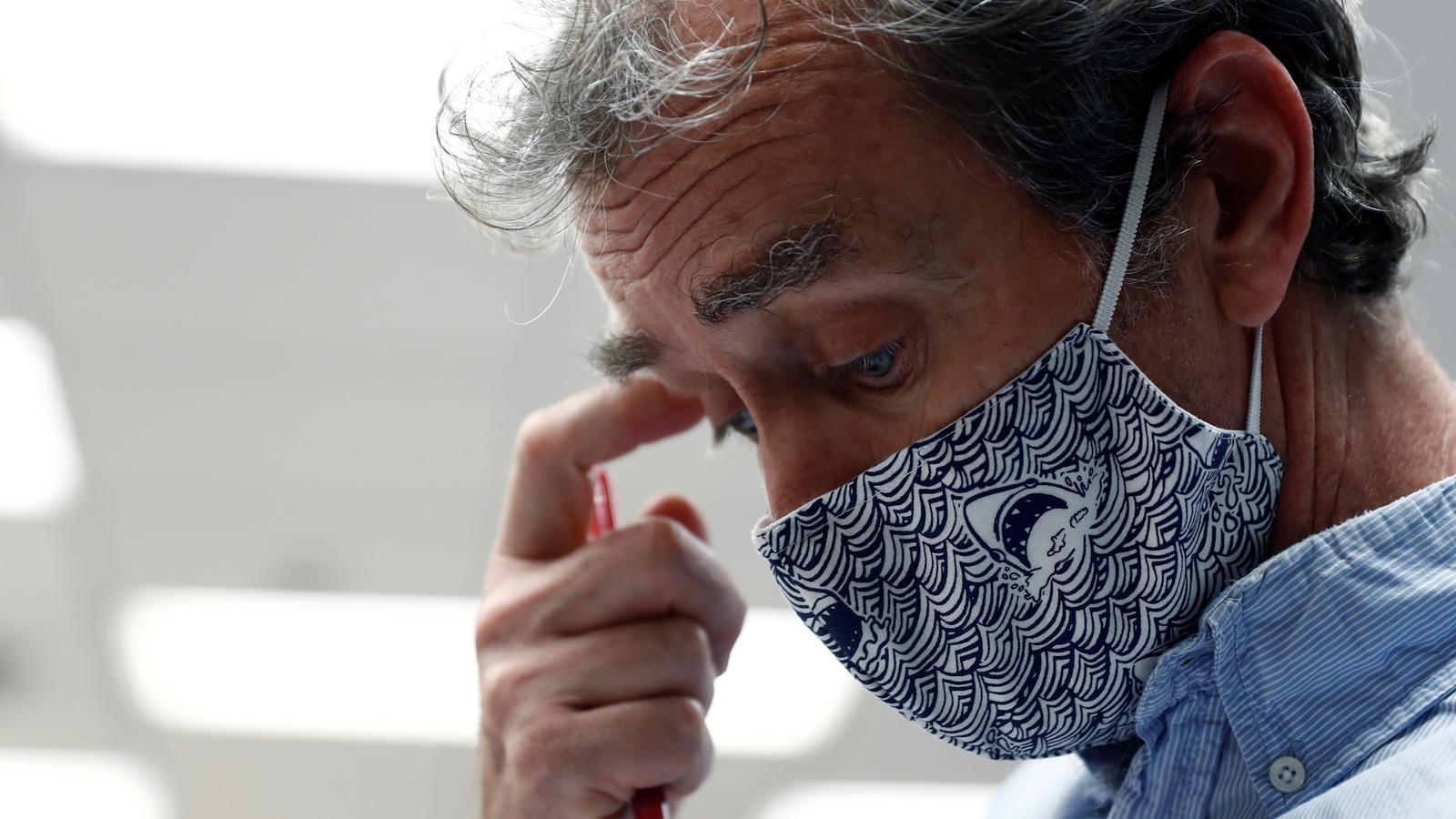 EN DIRECTE | Roda de premsa de Fernando Simón sobre l'evolució del covid-19