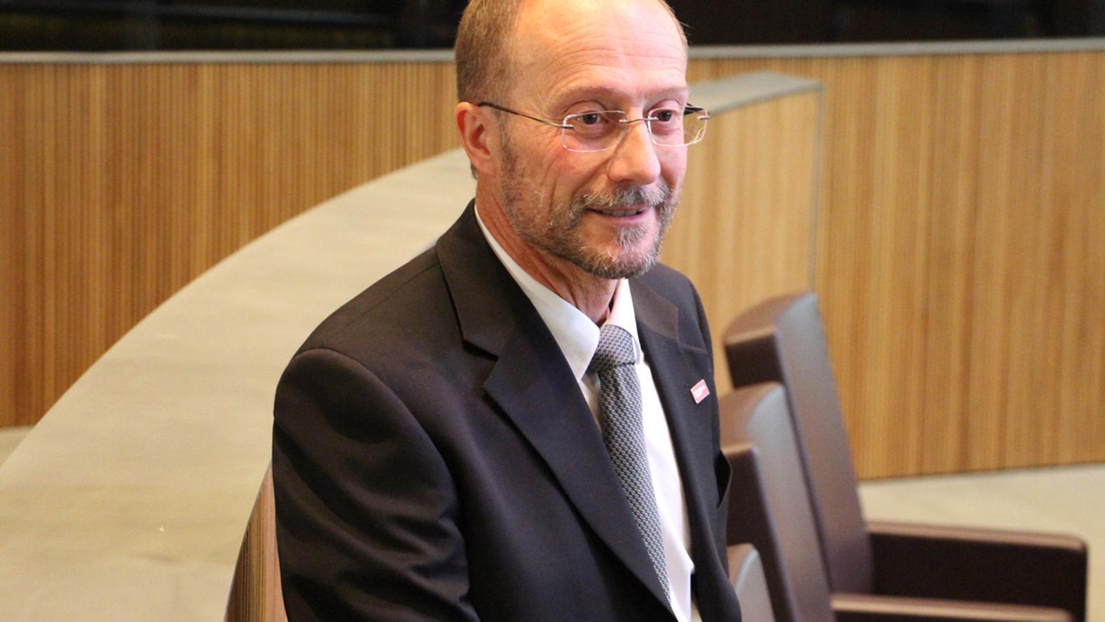 Víctor Naudi és conseller general d'SDP