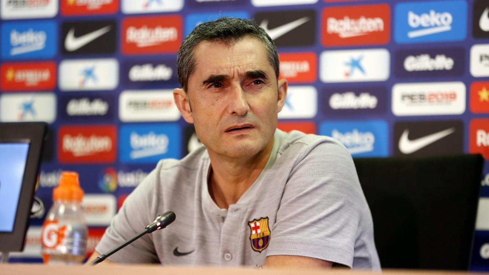 """Valverde: """"Parlar del retorn de Neymar és especular; al futbol tot pot passar, però això és molt difícil"""""""
