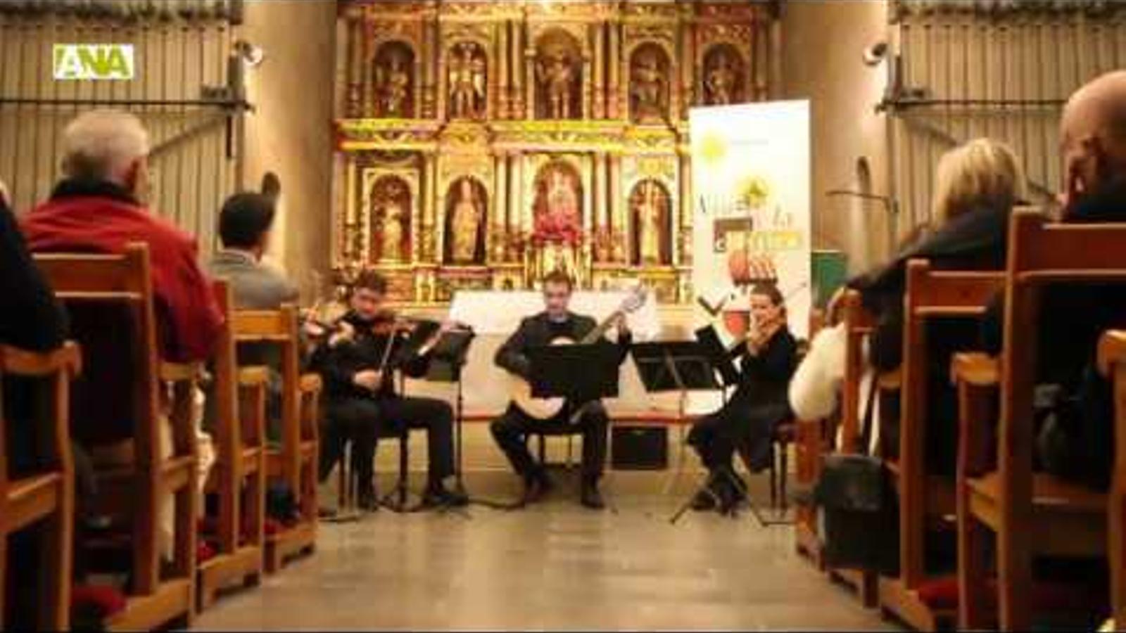 Imatges del concert de 5AndCordes a Ordino