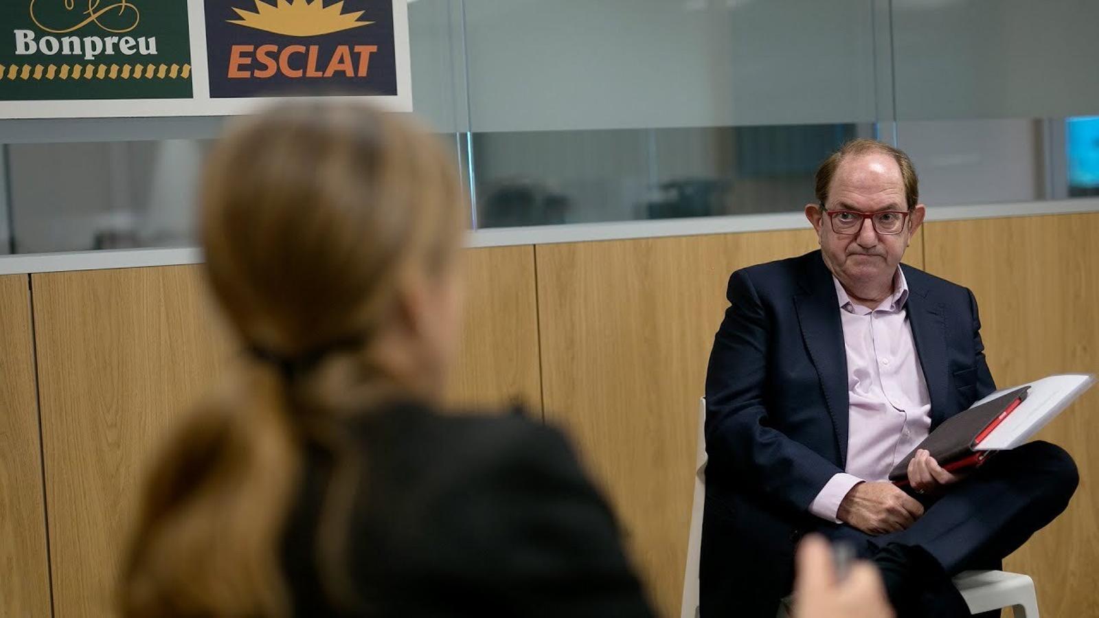 Esther Vera i Albert Martín entrevisten a Joan Font