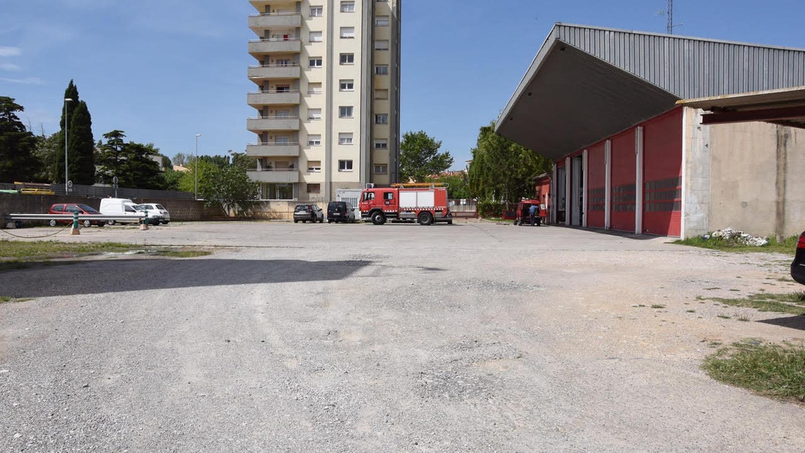 Imatge general del parc de Bombers de Figueres / ACN