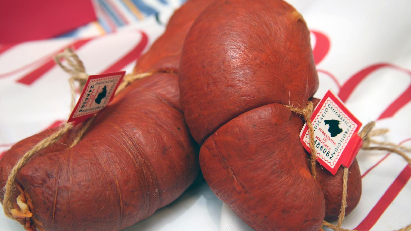 La sobrassada és un dels productes més consumits a Mallorca
