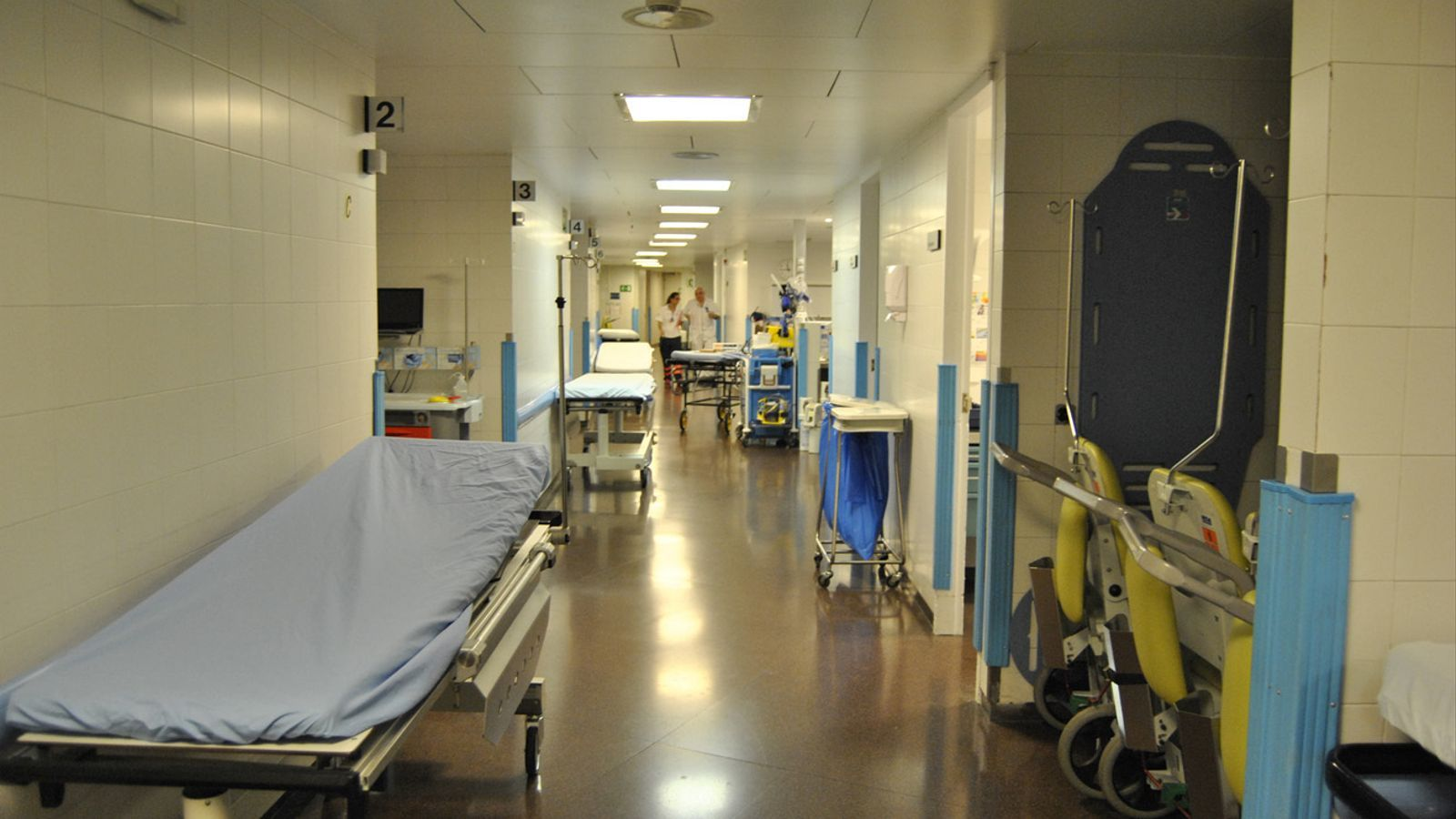Les depedències del Servei d'Urgències de l'Hospital Nostra Senyora de Meritxell. / Arxiu
