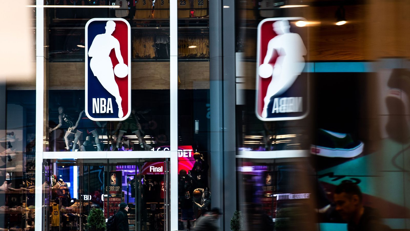 Botiga de la NBA a Nova York
