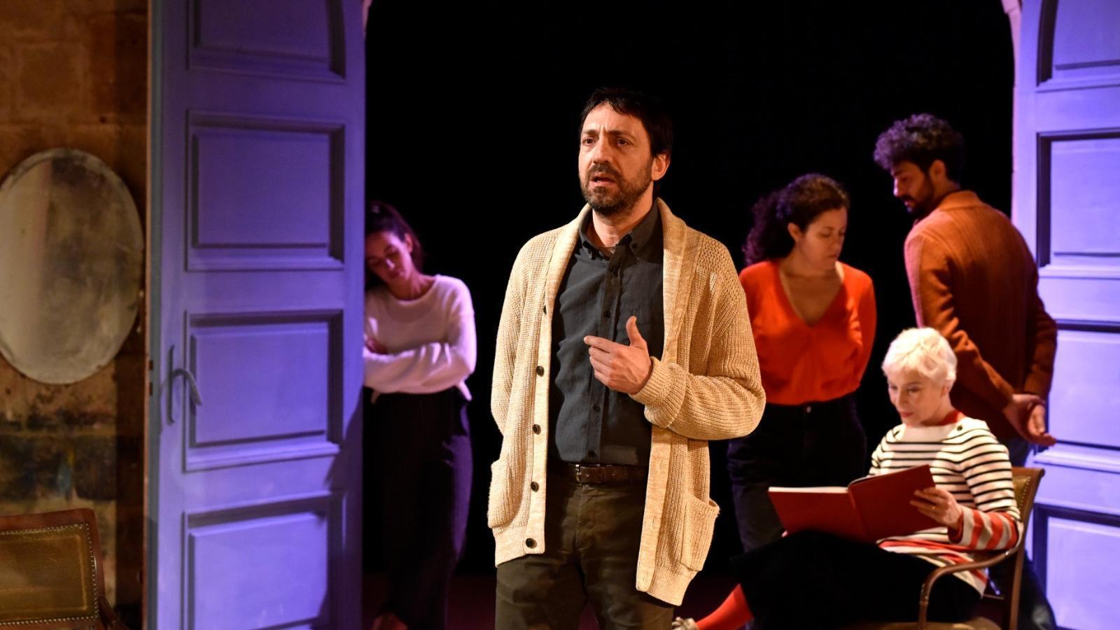David Vert protagonitza 'Només la fi del món' a la Biblioteca de Catalunya